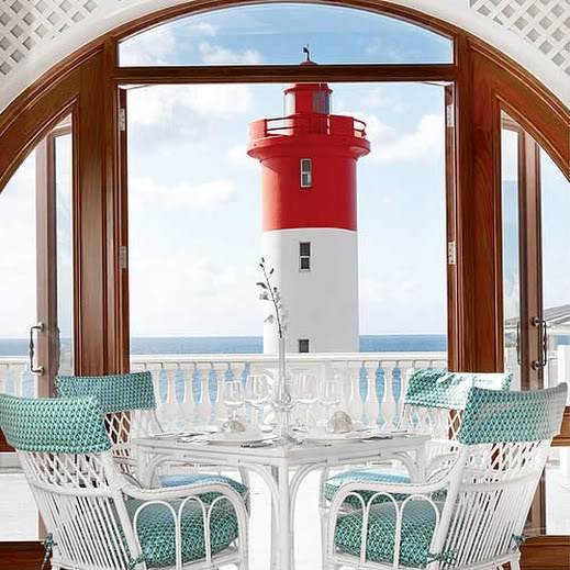 The Oyster Box Hotel. Umhlanga Rocks South Africa