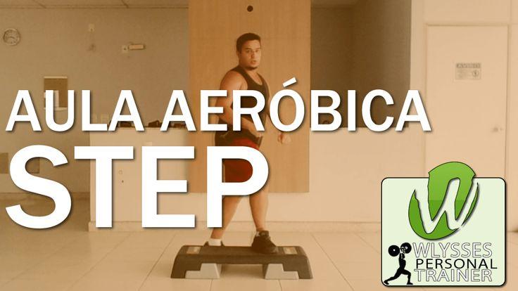 Aula Aeróbica de Step #4 - Para Fazer em Casa e Derreter Gordura Abdominal - Iniciante