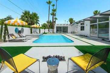 Hidden Desert South - midcentury - Pool - Los Angeles - H3K Design