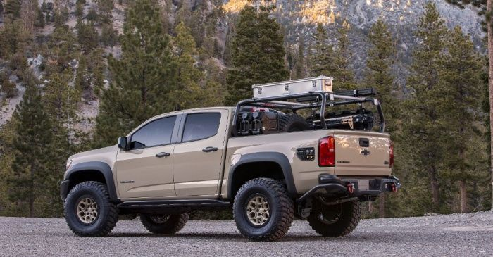Ultimate Midsize Adventure Truck Chevy Colorado Zr2 Aev Chevy