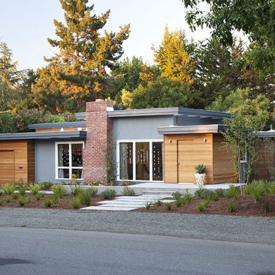 Decor And Ideas Mid Century Modern House Design Ranch Home Modern