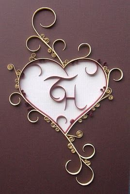 Quilled Heart (Tutorial), Valentine's & Romantic Crafts