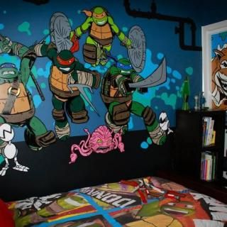123 best images about Dante room on Pinterest | Ninja turtle room ...