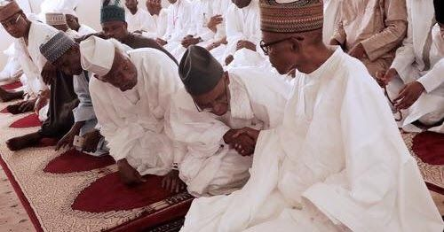 As Nigerians celebrate eid-el-fitr to mark the end of the Ramadan President Muhammadu Buhari has sent a message of greetings to the Muslims urging them to live in peace and avoid reckless utterances.  Also the Speaker of the House of Representatives Mr. Yakubu Dogara saluted the Muslims who would troops to the prayer grounds on Sunday following the siting the moon.  Malam Garba Shehu the Senior Special Assistant to the President on Media and Publicity announced Buharis message in a statement…
