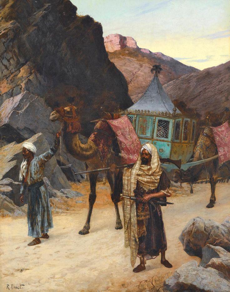 Rudolf Ernst (Austrian, 1854-1932). The Palanquin