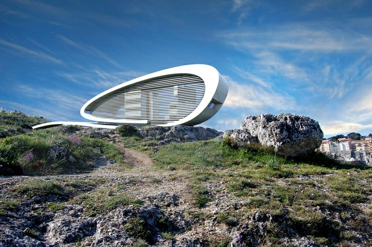 On the rock– NomAd house claudio catalano architecture&design