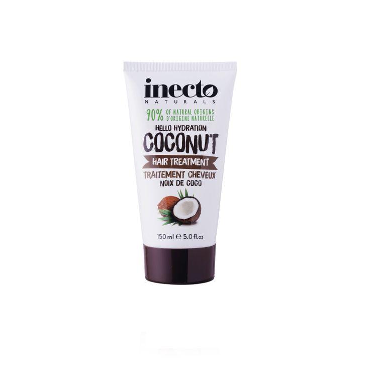 Inecto Naturals Coconut hårinpackning 100 % ekologisk kokosolja. Veganvänlig! Köp hos Ecoliving.se