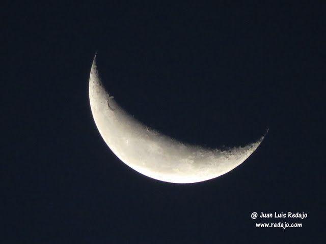 Luna en cuarto menguante en La Guardia (Toledo)