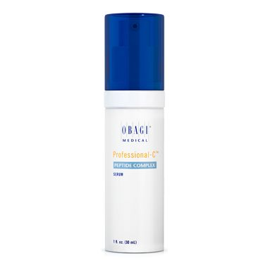 #Obagi #ProC Peptide Complex helps improve the appearance of firmness, tone, and fine lines and wrinkles with natural growth factors kinetin and zeatin, as well as Vitamin C and other important ingredients.