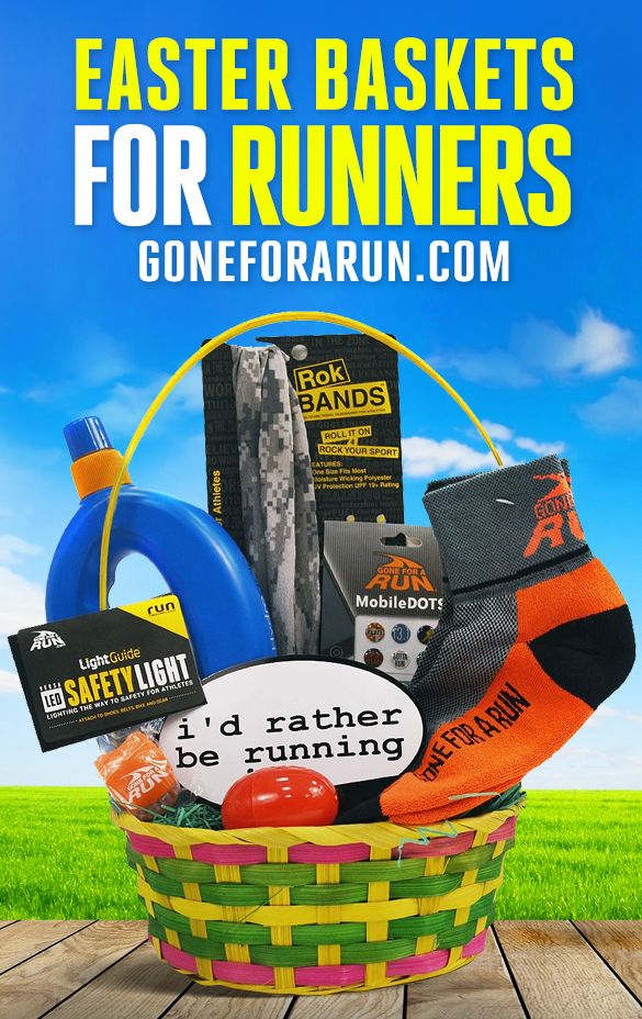 28 best easter running gifts images on pinterest running gifts put a smile on your favorite runners face with our easter basket filled with hand negle Image collections