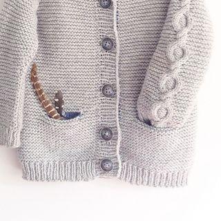 """Little Treasure Cardigan"" Knitting Pattern, Ravelry"