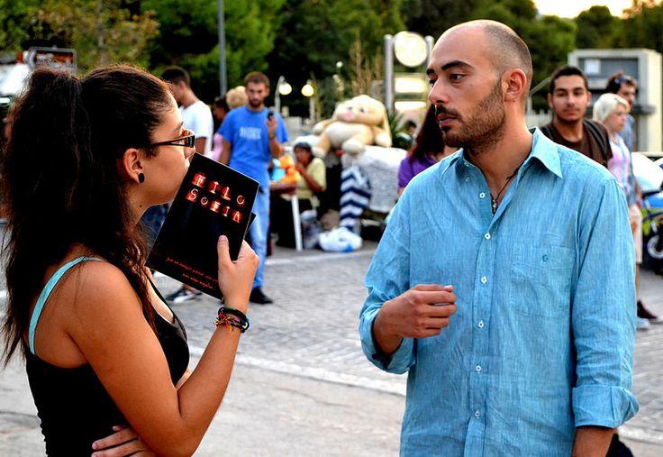 Ηappening στο δρόμο: «Η Φιλοσοφία ελευθερώνει τις ιδέες»