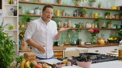 Love Jamie Oliver's Superfoods TV kitchen