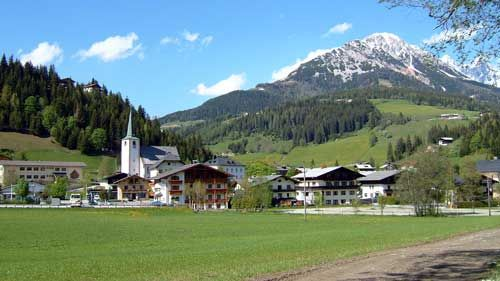 Filzmoos, Austria: a quaint little town tucked away in the Austrian Alps with the best Heisse Schokolade u. Apfel Strudel.