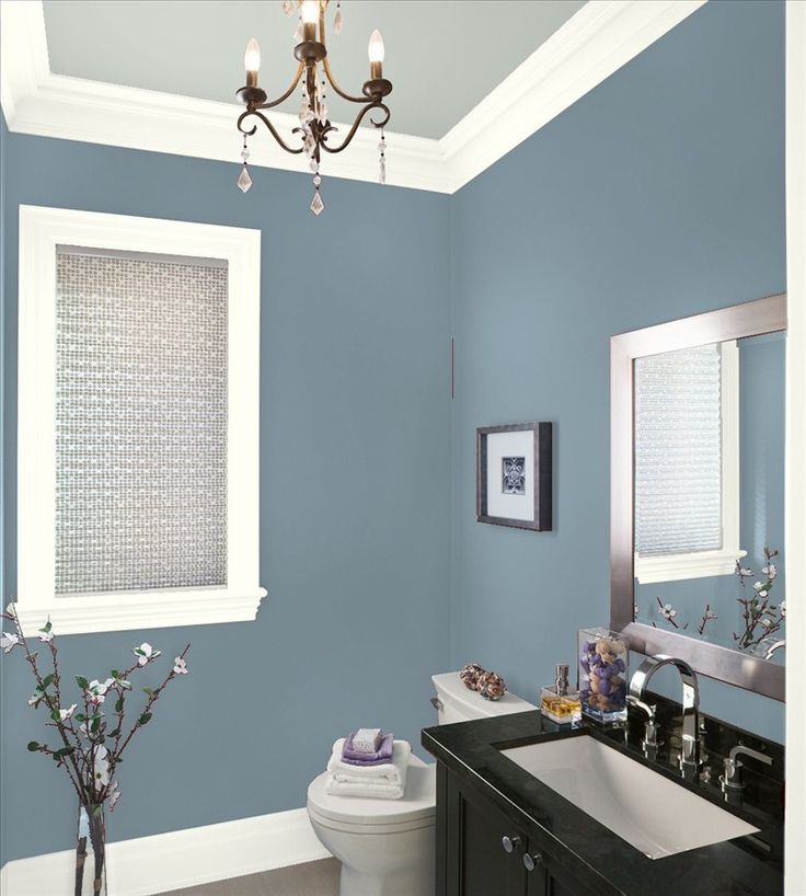 This will be the color for the Bathroom Paint? Amsterdam by Benjamin Moore