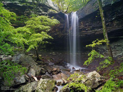 Long Pool Falls - Ed Cooley