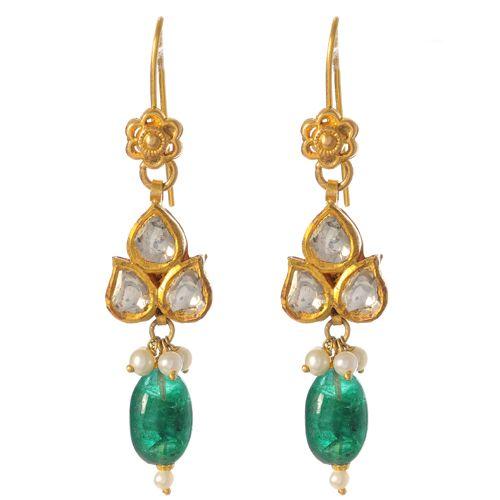 Amrita Singh - Fine Jewelry -Qamra Earring