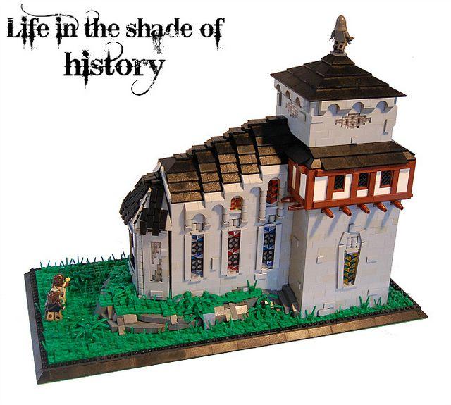 how to build a lego church
