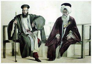 Ο παπάς και ο ιμάμης τον 19ο αιώνα.