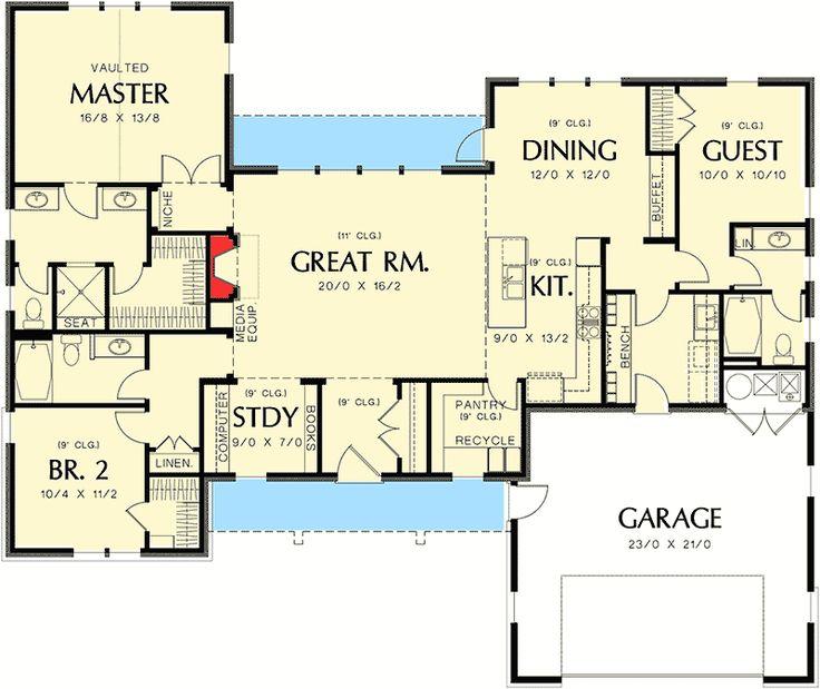 558 Best Home Blueprints Images On Pinterest
