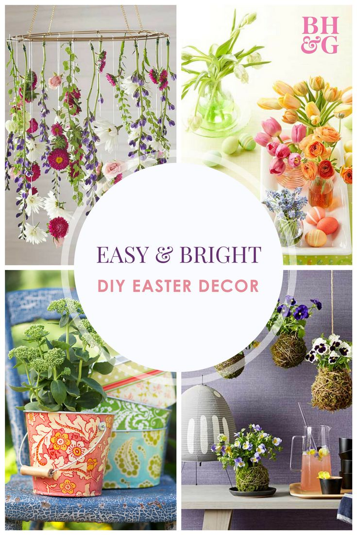 Need some Easter decorating inspiration? Our Easter-worthy decorating ideas are a pretty and simple way to amp your home up for the holiday. #easter #easterdecorations #eastereggs