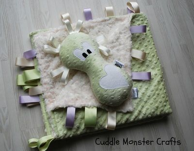 Cuddle Monsters! Super soft sensory toys for babies and children <3