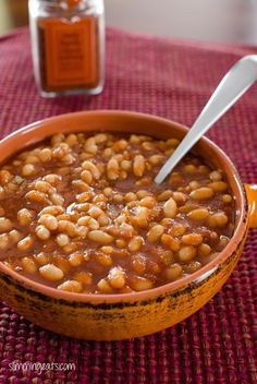 Barbecue Beans | Slimming Eats - Slimming World Recipes