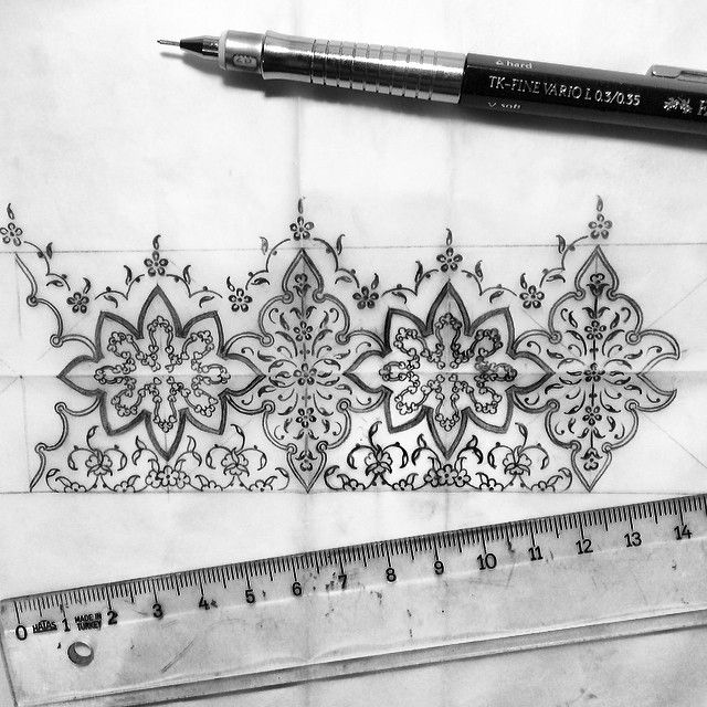 ✏️ #drawing #design #sketch #artwork #art #artcollective #mywork #illumination #tezhip #blackandwhite #istanbul #turkey #dilarayarcı