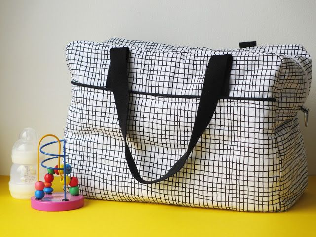 DIY / Tuto - Sac à langer ou sac week-end / Diaper bag, nursing bag or weekend bag tutorial