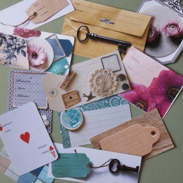 Carte à jouer, clef ancienne ou fleur en dentelle, tous les motifs sont bons pour réaliser des étiquettes à la fois belles et pratiques ! Sur Marie Claire Idées.