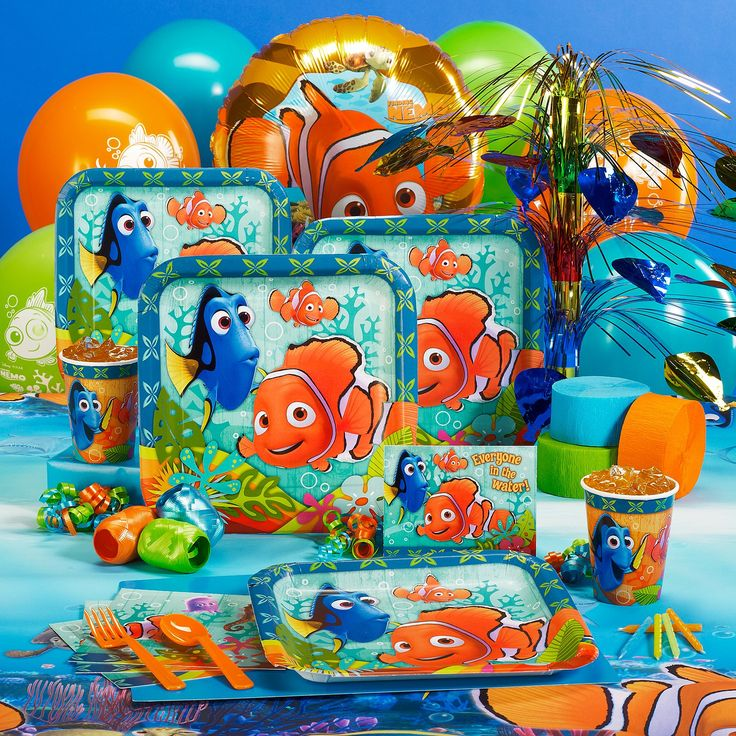 17 best images about finding nemo on pinterest goody for Nemo decorations