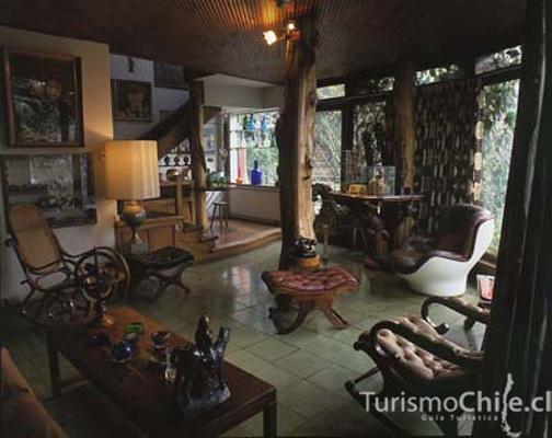La Chascona Pablo Neruda's House Santiago de Chile