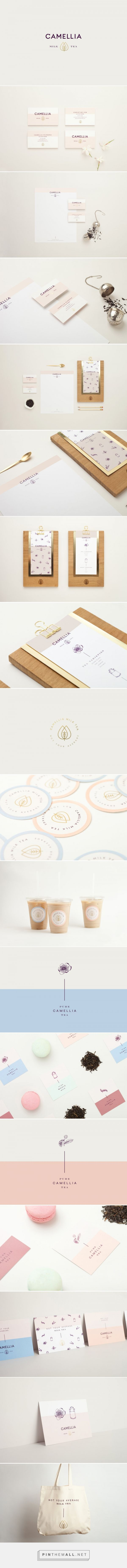 Camellia Milk and Tea Shop Branding and Menu Design by Menta | Fivestar Branding Agency – Design and Branding Agency & Curated Inspiration Gallery