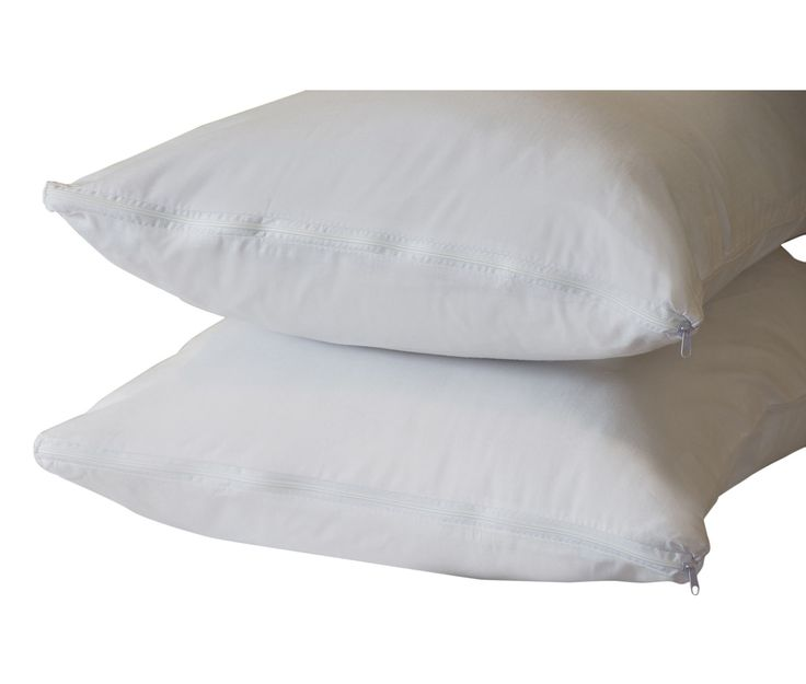 Features:  -Set includes 4 pillow protectors.  -Thread count: 300.  -Allergy free.  Product Type: -Pillow protector.  Gender: -Neutral.  Color: -White.  Pattern: -Solid.  Thread Count: -300.  Water Re