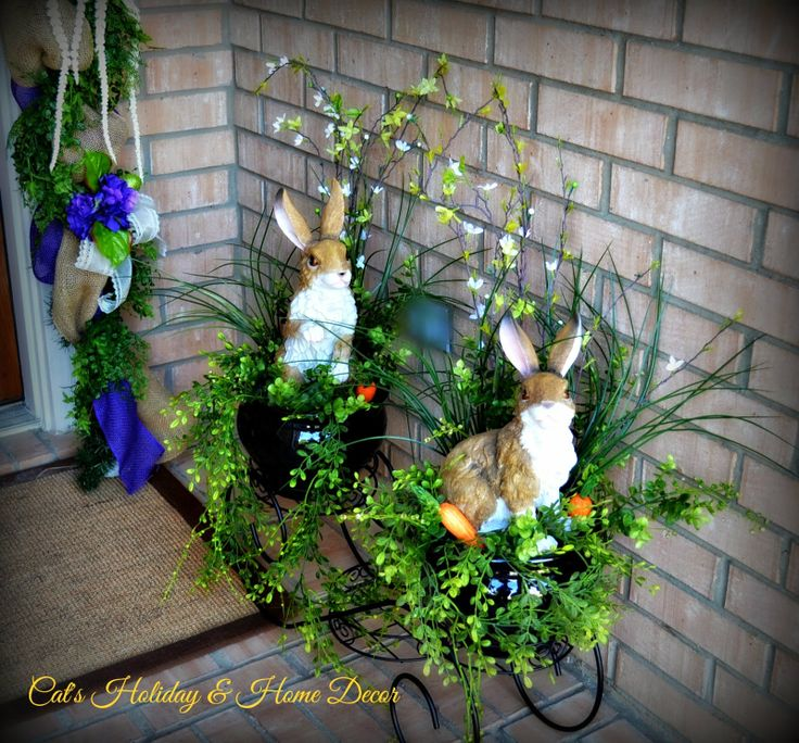 Garden Decor Cats: 17 Best Images About My Door Decor & More On Pinterest
