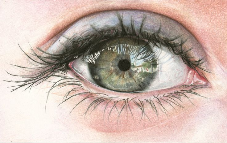 Amazing Color Pencil Eye Drawings by Amy Robins
