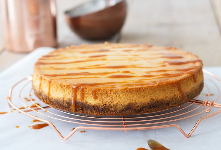 Karamel cheesecake - Zoetrecepten