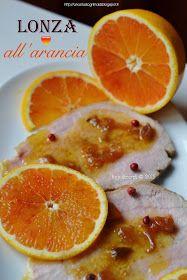 Any secret...: Lonza di maiale all'arancia e pepe rosa