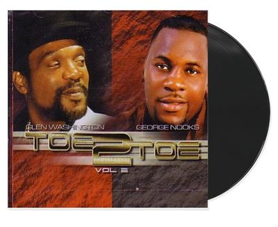 Toe 2 To Toe Vol.2 - Glen Washington & George Nooks (Lp)