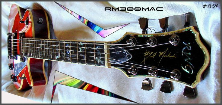 RWG Guitar - Bill MacKechnie Signature Guitar