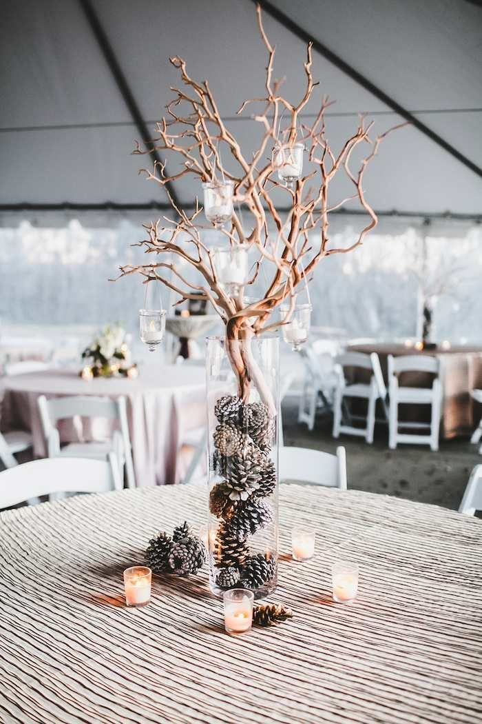 Best 25 winter wedding centerpieces ideas on pinterest wedding winter wedding with diy details junglespirit Images