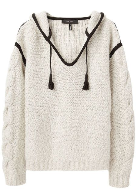 Isabel Marant Quantin Hooded Knit