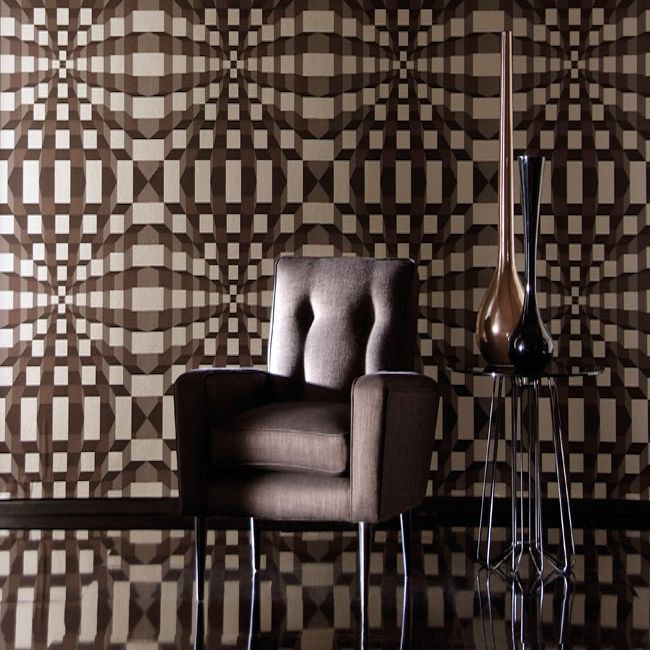 Harlequin wallpaper, Identity collection, Perception wallpaper, available in 3 colourways