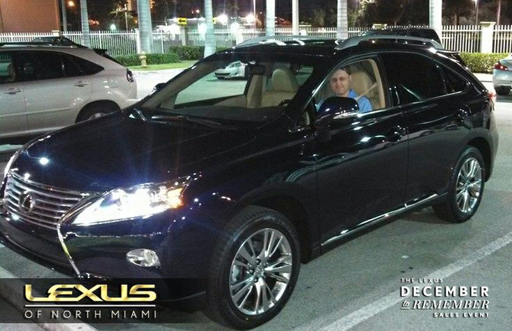 congrats to scott sankey on his new 2014 lexus rx 350 welcome to the lexus of north miami. Black Bedroom Furniture Sets. Home Design Ideas