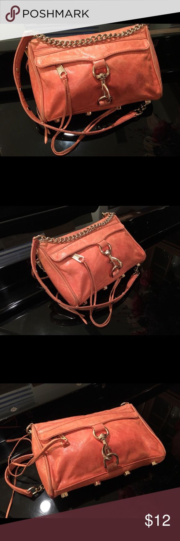 Crossbody bag from Rebecca Minkoff! Pop up your wardrobe with this stylish cute Crossbody bag!  Perfect weekend casual bag you can take along to just about anywhere! Rebecca Minkoff Bags Crossbody Bags