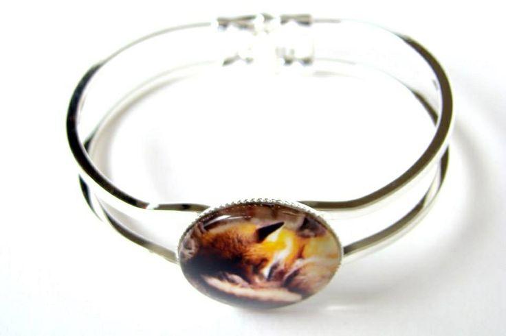 Sleeping Fox Foxy bracelet  Vossen armband via www.pinka.nl