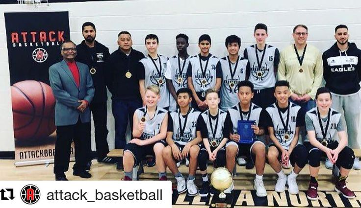 @attack_basketball League  2004 Boys Division 1st Place  Jr. Bisons Black  Unbeaten and the class of the league. More at @attack_basketball & @jr_bison_boys_bball