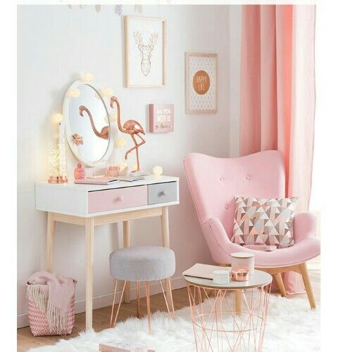 Cozy corner perfect for any girl.