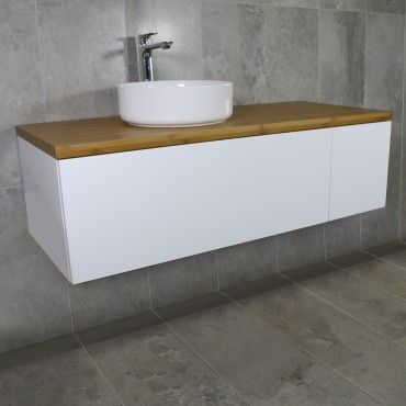 Eden Wall Mount Vanity Cabinet without Top 1200mm