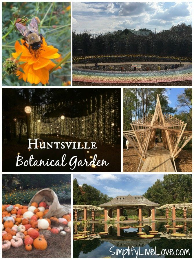 Huntsville Botanical Gardens. A must see destination in Huntsville, Alabama.